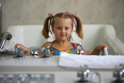 Гидромассаж детям от 4-х лет!