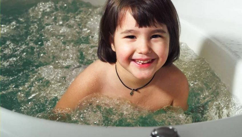 Гидромассаж детям от 4-х лет