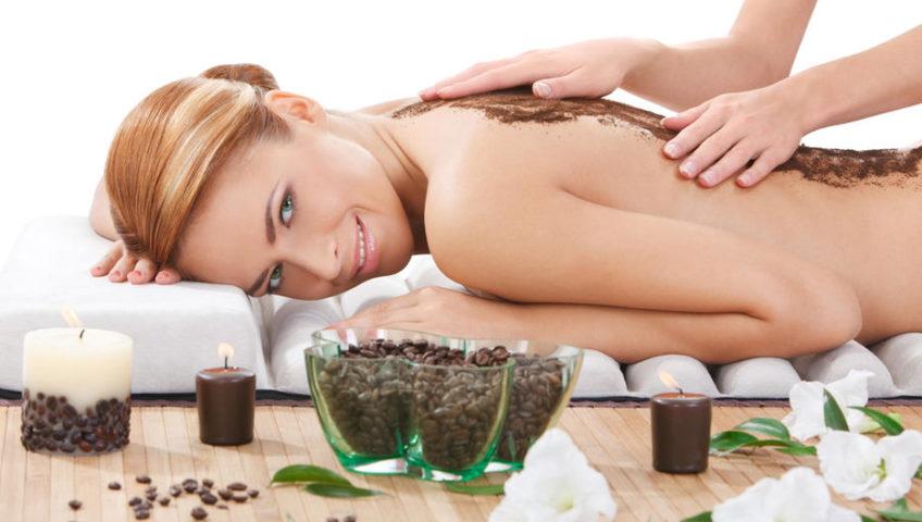 Кофейный пилинг-массаж